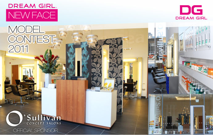 Dream Girl New Face 2011 - Official Sponsor O'sullivan