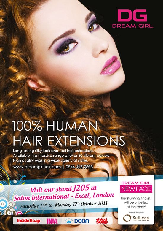 Visit Our Stand At Salon Intl Dream Girl Hair Extensions