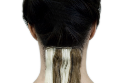 Dream girl hair extensions section your hair and work from the bottom up snap the clip ons onto the roots of your hair pmusecretfo Choice Image