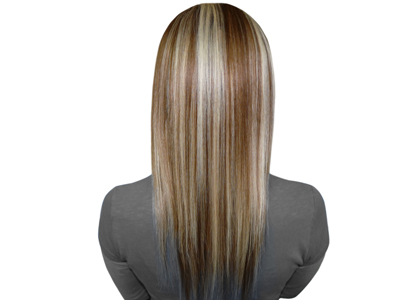 Dream girl hair extensions once they are comfortably in simply brush your hair over making them invisible pmusecretfo Gallery